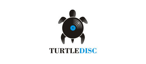 TURTLE DISC logo design ideas
