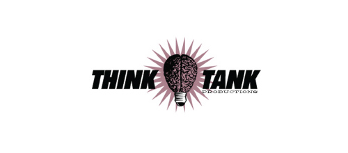 Think Tank Productions logo design examples