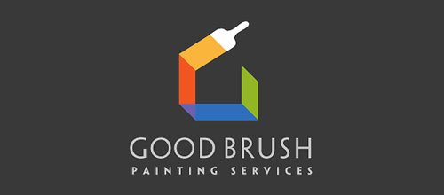 Good Brush logo design examples