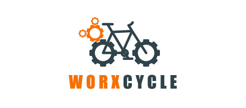 bike logo design work bicycle logo design