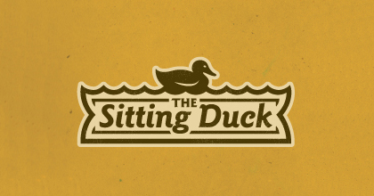 Yellow ducks logo design examples