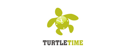 TURTLE-TIME logo design ideas