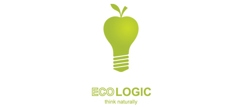 Think Naturally logo design examples