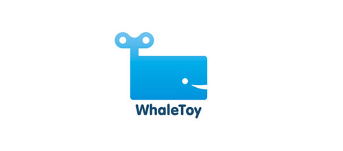 Whale-Toy logo design examples