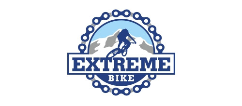bike logo design extreme bike logo design
