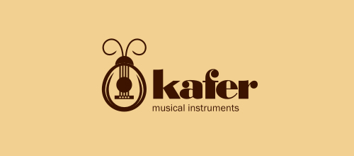 Kafer logo design examples
