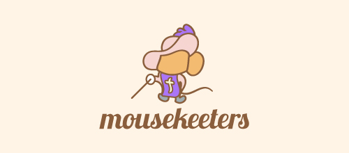 Mousekeeters logo design examples