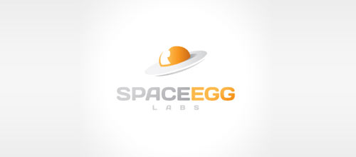 Space Egg logo design examples ideas