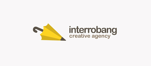 interrobang logo design