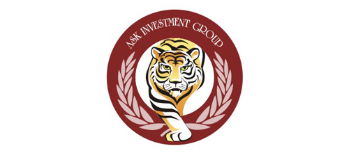 Investment company tiger logo design ideas