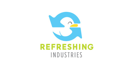 Fresh ducks logo design examples