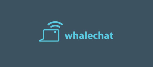 WhaleChat logo design examples