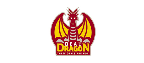 dragon logo design examples Deal Dragon