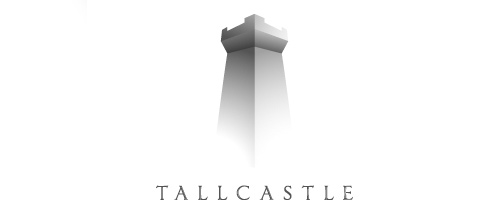 Tall castle logo design examples ideas