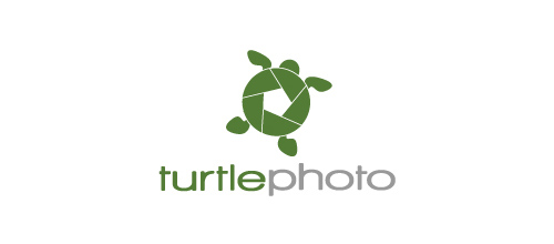 turtlephoto logo design ideas