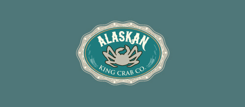 Alaskan King Crab logo design examples