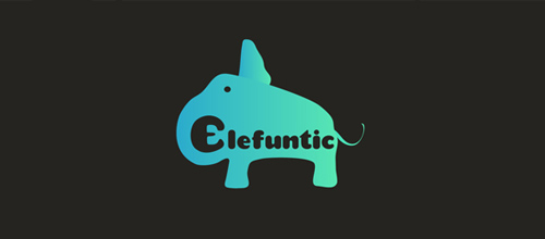design Elefuntic logo