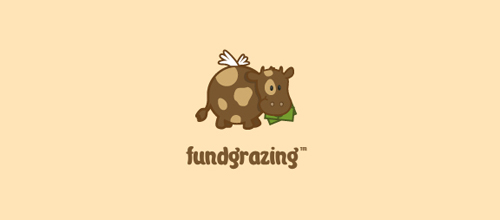 Fundgrazing logo design examples