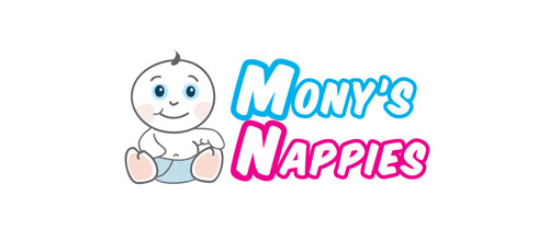 Mony's Nappies logo design