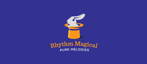 Rhythm Magical logo design examples