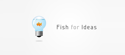 fish for ideas logo design examples