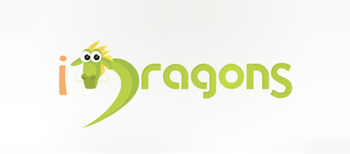 dragon logo design examples Idragons