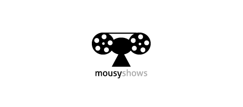 mousyshows logo design examples