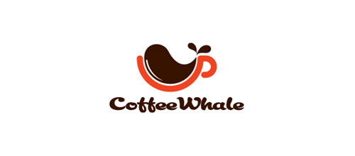 Coffee Whale logo design examples