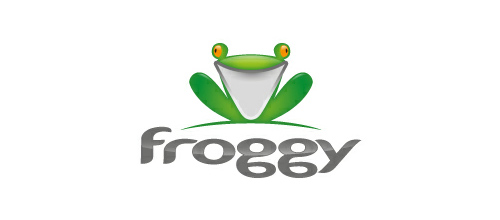 Froggy logo design examples
