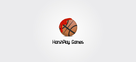basketball logo design ideas HarshPlay Games