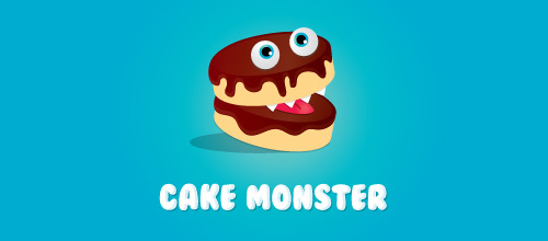 logo design Cake Monster
