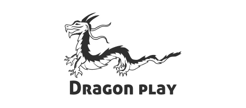 dragon logo design examples Dragon play