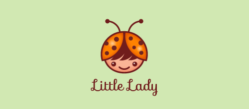 Little Lady logo design examples