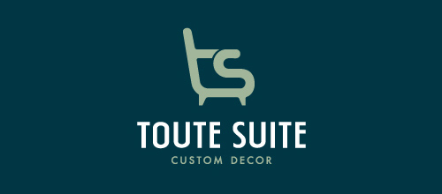 furniture logo designs examples Toute Suite