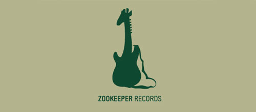 Zookeeper Records logo design examples