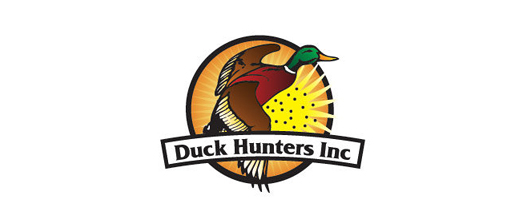 Hunt ducks logo design examples