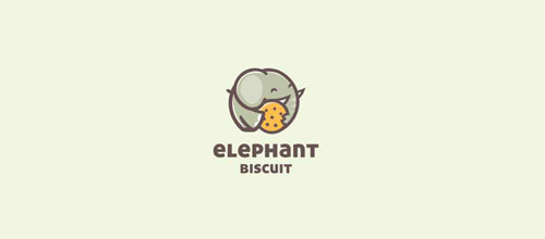 design Elephant Biscuit logo