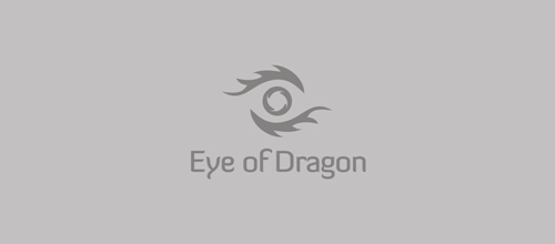 dragon logo design examples Eye of Dragon
