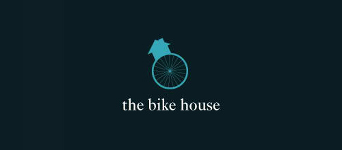bike logo design The Bike House logo