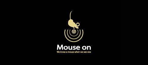 Mouse On logo design examples