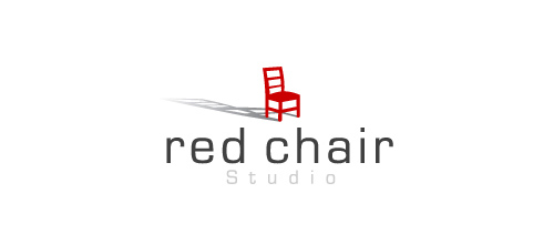 furniture logo designs examples Red Chair