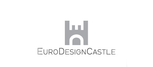 Euro castle logo design examples ideas