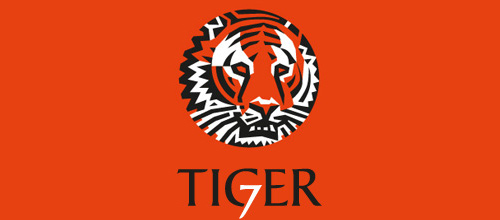 Software company orange tiger logo design ideas