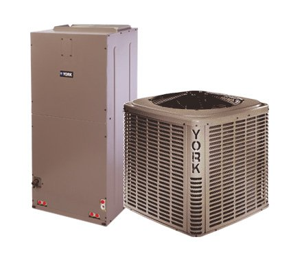 2 Ton 14.5 Seer York Air Conditioning System - YCJD24S41S1 - AHE24B3XH21