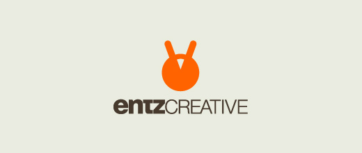 Entz yellow head ant logo design ideas