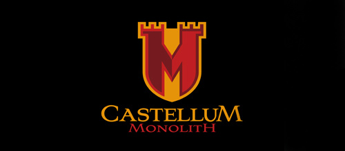 Monolith business castle logo design examples ideas