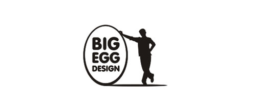 Big Egg Design logo design examples ideas