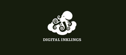 Digital Inklings logo design examples