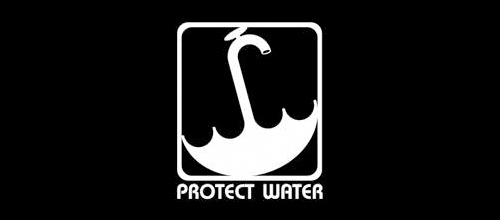 Protect Water logo design