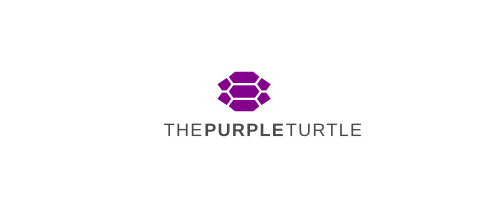 The Purple Turtle logo design ideas
